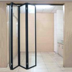 鋁框折疊門